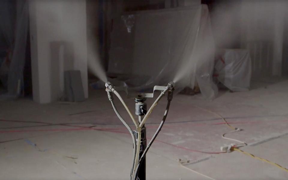 AeroBarrier nozzles