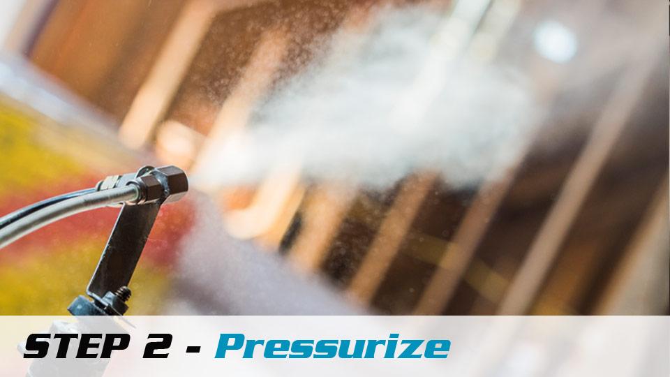 Pressurize AeroBarrier